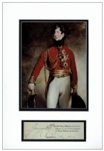Prince Regent Autograph Signed Display
